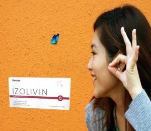 Izolivin csepp, összetevők, hogyan hogyan kell használni, hogyan működik, mellékhatások